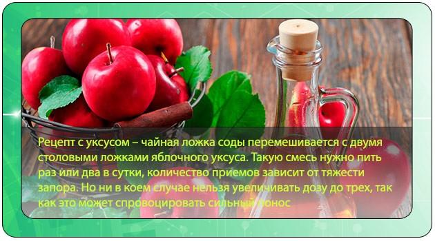 Применение соды с уксусом