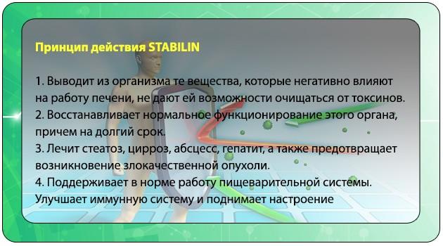 Принцип действия Стабилена