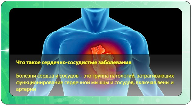 Сердечно-сосудистые патологии