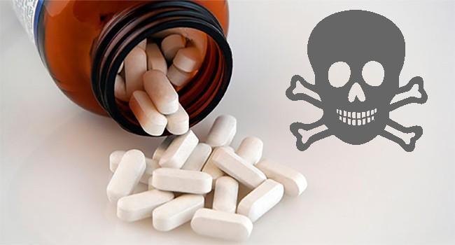 Какие таблетки вызывают смерть при передозировке