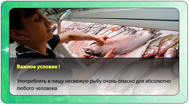 Несвежая рыба