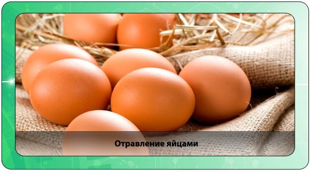 Отравление куриными яйцами