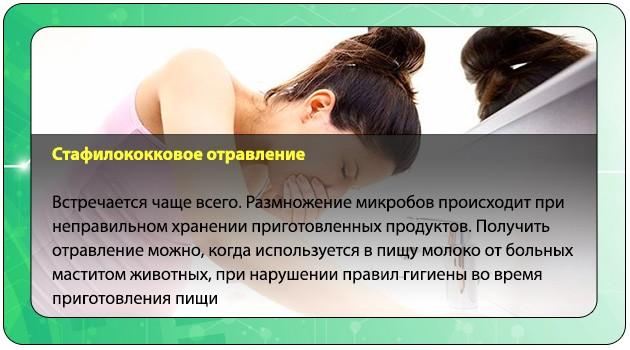 Стафилококковое отравление