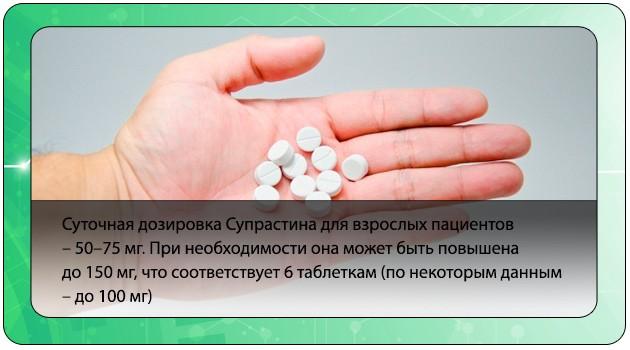 Суточная доза препарата