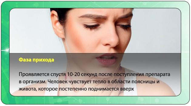Воздействие опиатов на организм человека