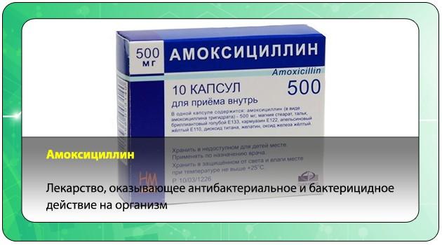 Антибактериальный препарат