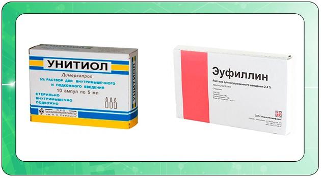 Антидоты для выведения токсинов