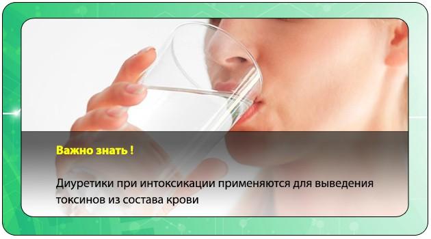 Употребление диуретиков