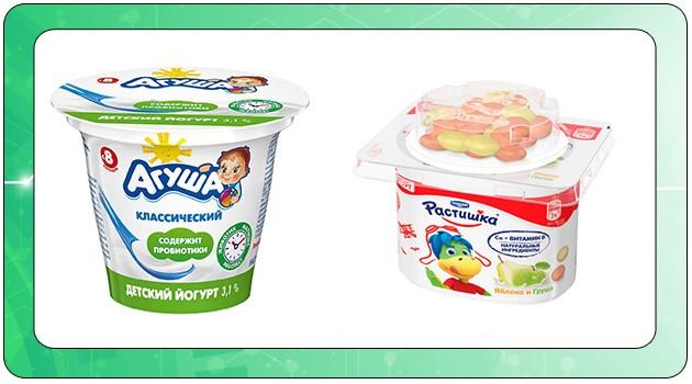 Кисломолочные продукты для детей