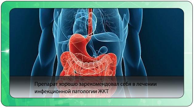 Лечение инфекций ЖКТ