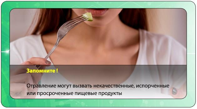 Отравление испорченными продуктами