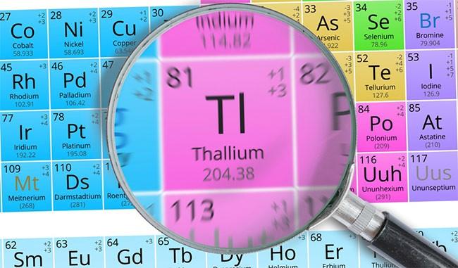 Отравление таллием