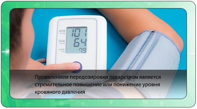 Падение кровяного давления