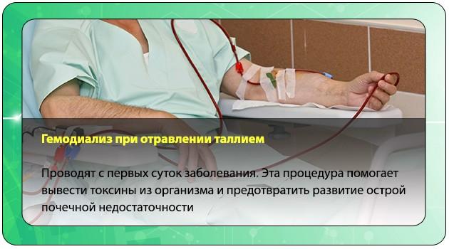 Процедура очищения крови от токсина