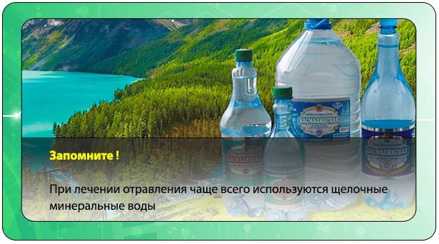 Щелочные минеральные воды