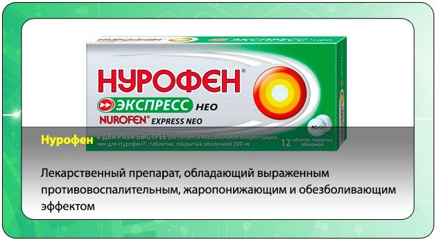 Жаропонижающий препарат