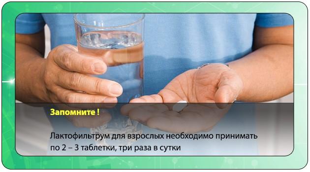 Дозировка лекарства для взрослых