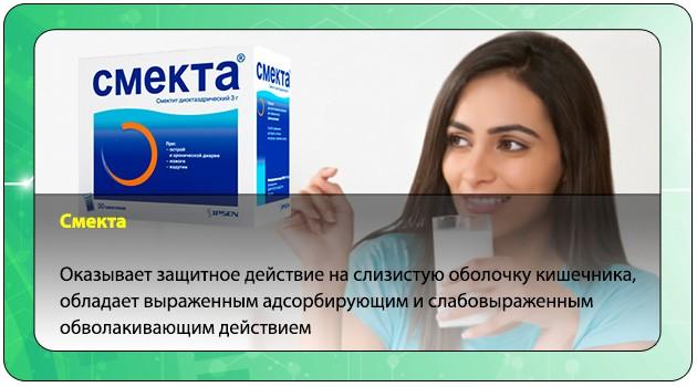 Фармакодинамика препарата Смекта