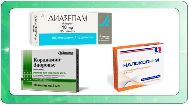 Лекарственные средства при отравлении