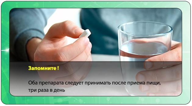 Прием лекарственного препарата
