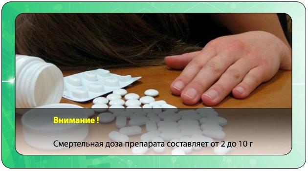 Смерть от лекарства