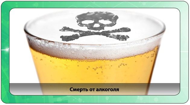 Смерть после приема алкоголя