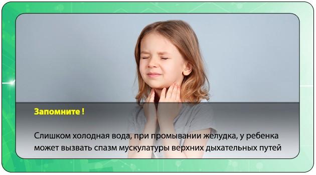 Спазм верхних дыхательных путей