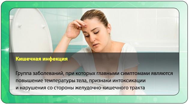Тошнота при кишечной инфекции