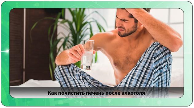 Чистка печени после спиртного