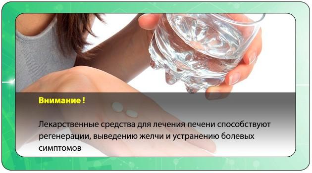 Действие препаратов для лечения печени