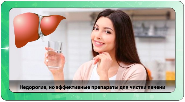 Эффективные препараты для печени