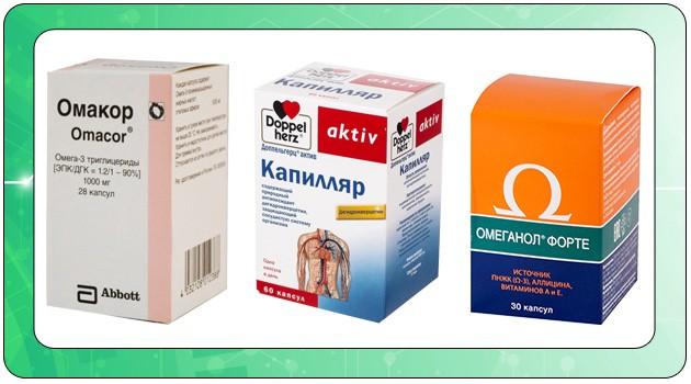 Препараты жирных кислот