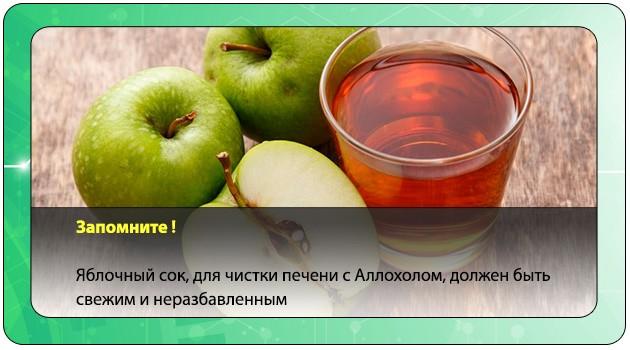 Свежий яблочный сок