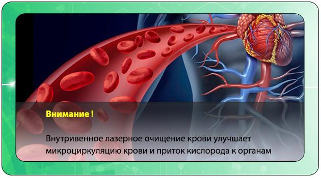 Улучшение микроциркуляции крови