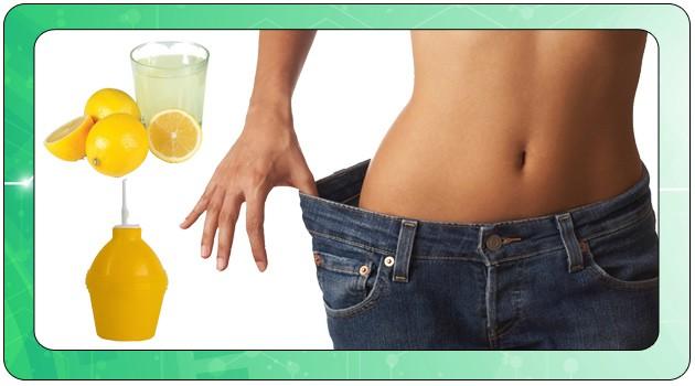 Похудение с лимоном