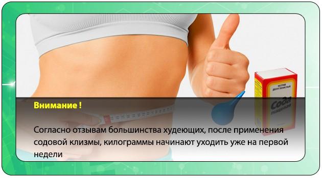 Клизма Для Похудения Рецепты.