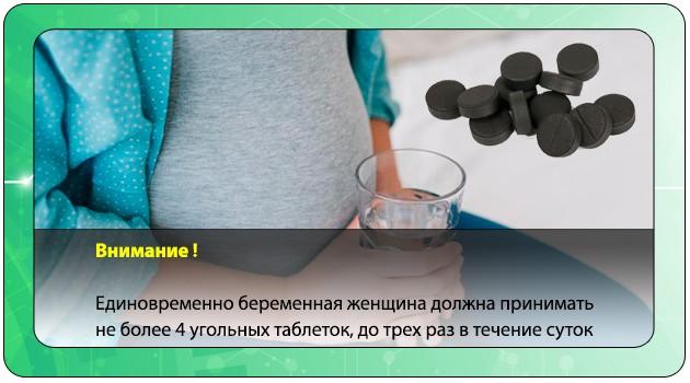 Схема приема угля беременной