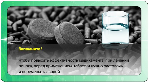 Уголь и стакан воды