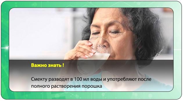 Употребление лекарственного препарата