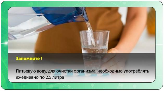 Употребление воды