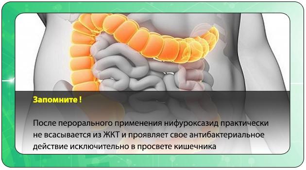 Фармакокинетика Энтерофурила
