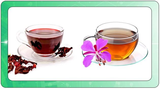 Каркаде и Иван-чай