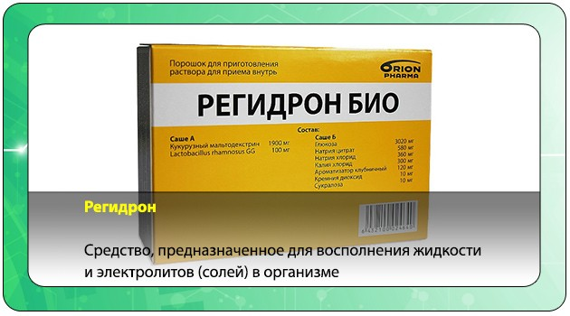 Описание лекарства Регидрон