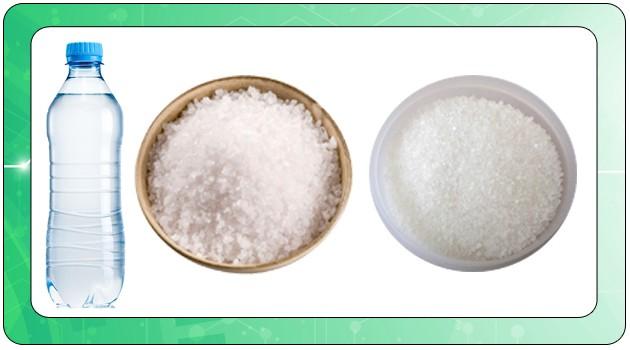 Рецепт с солью и сахаром