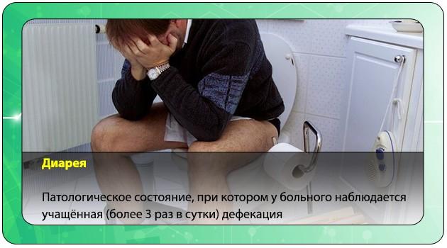 Диарея у мужчины