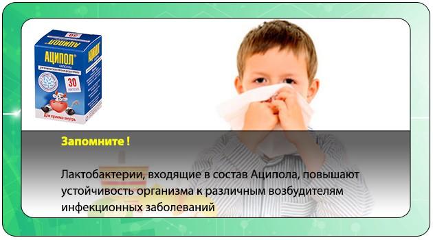 Повышение детского иммунитета