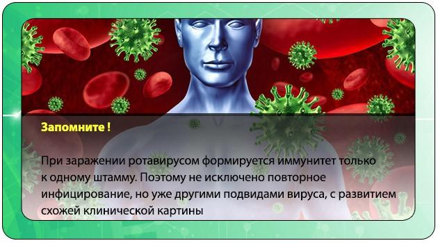 Иммунитет на ротавирус