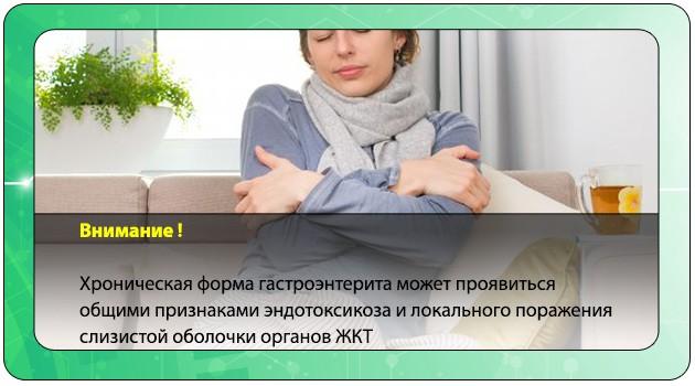 Симптомы гастроинтерита