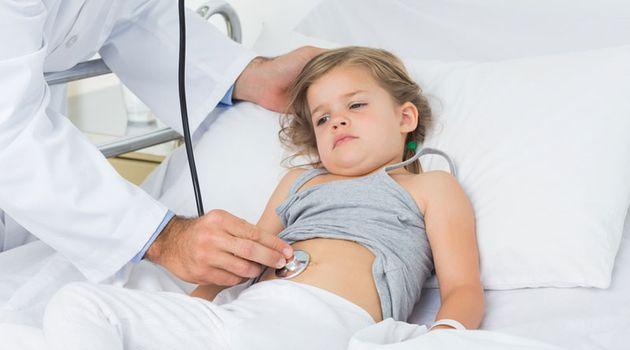 Ребенок болен гастроэнтеритом