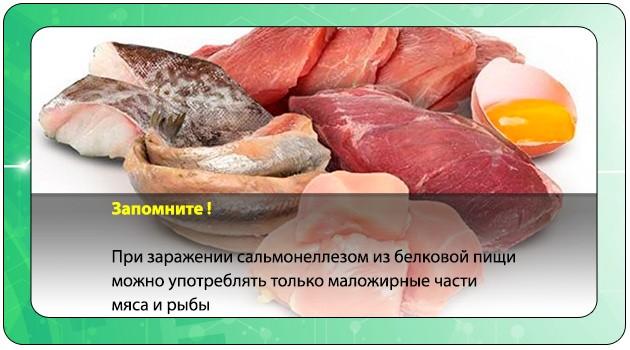 Маложирные части мяса и рыбы